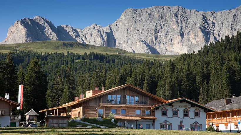 Luis Trenker is still alive at the Dolomites Living Hotel Tirler