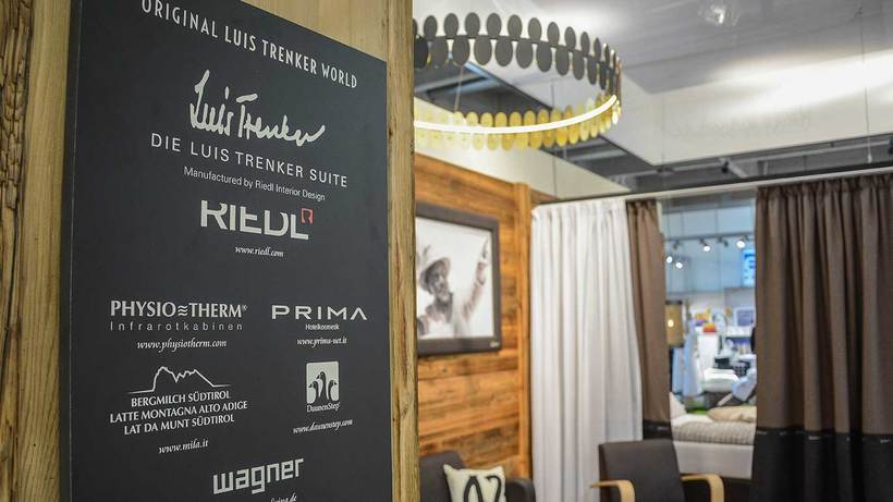Luis Trenker meets the world of hotels - we proudly present our new suite!
