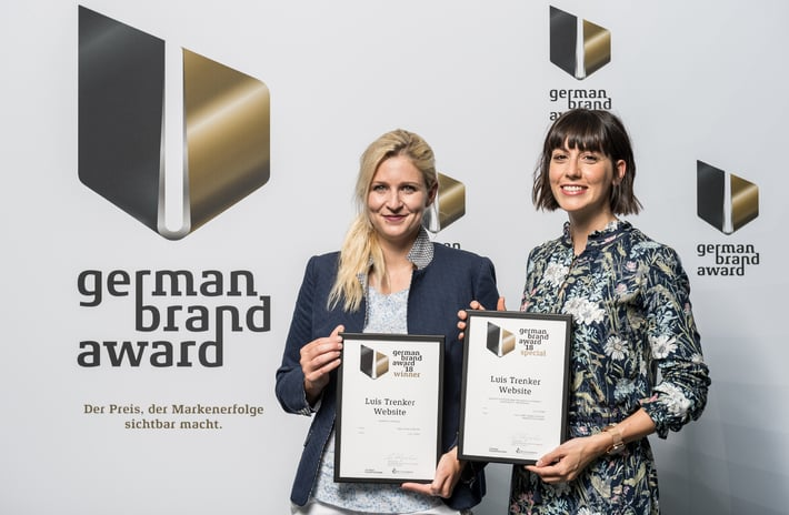 GERMAN BRAND AWARD for Luis Trenker