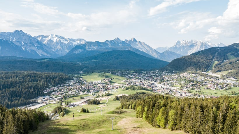 Rainer on tour: Our shop manager explores the Olympic region Seefeld!